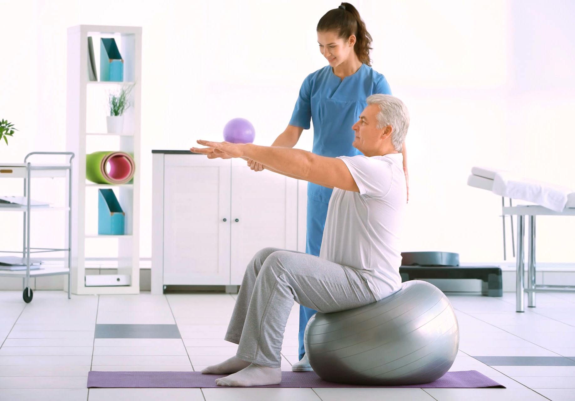 balance training Edmonton